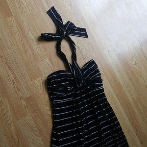 Soma like new soft maxi dress halter or strapless